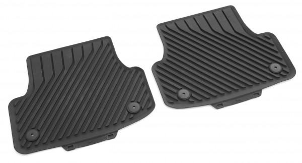 Gummifußmatten hinten Original Audi A3 (8V) schwarz