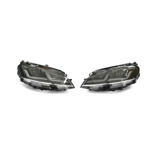 Original VW Golf 7 (5G) LED Scheinwerfer Chrom Edition Nachrüstung Osram Komplettsatz 5G1052163