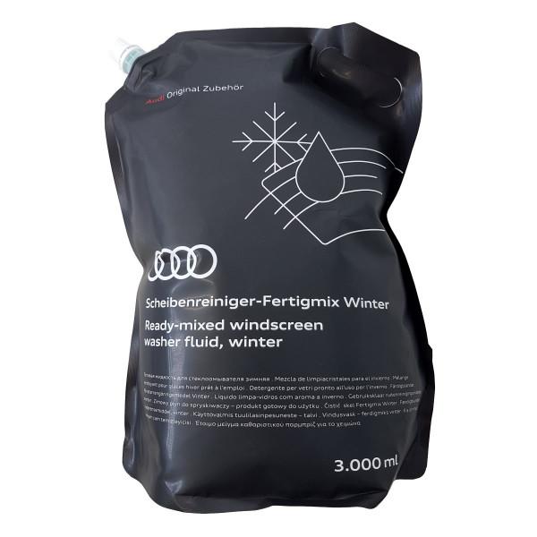 Original Audi Scheibenreiniger Winter Fertigmix Wischwasser 3L Standbodenbeutel