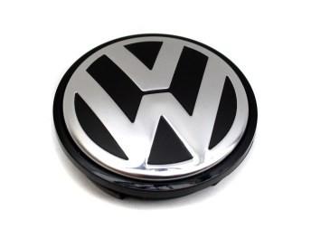 VW Nabenkappe Alufelge (Golf 5, 6, Jetta) Alufelge Radkappe Nabenabdeckung 3B7601171XRW
