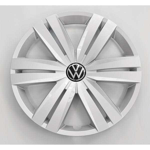Original VW Radzierkappe feinsilber 16 Zoll Radzierblende Stahlfelge 5TA601147BUWP