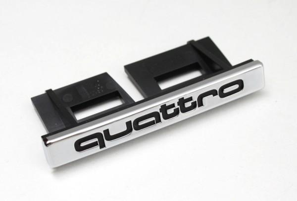 Original Audi quattro Schriftzug Emblem Logo Clip Kühlergrill 8E0853736B2ZZ