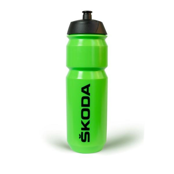 Original Skoda Sport-Trinkflasche grün Flasche 750 ml