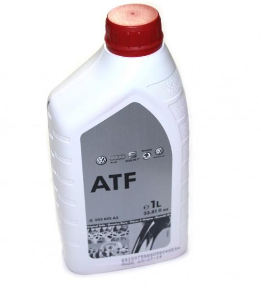 ATF Fluid 6-Gang-Automatik Getriebeöl Original VW / Audi Öl 1 Ltr. Flasche G055025A2
