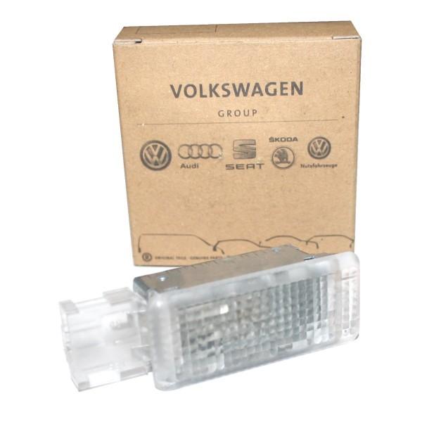 Kofferraumbeleuchtung klar Lampe Kofferraum Original VW Leuchte 6L0947415