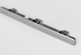 Aluminium Dekorblende Schalttafel, mitte (Passat 3C)