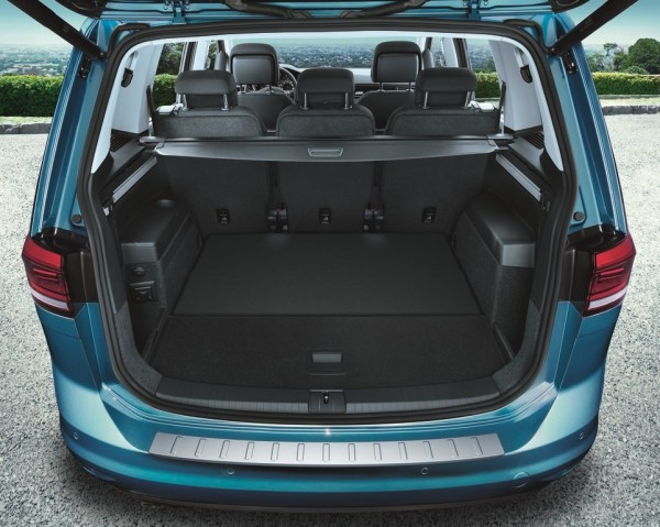 Ladekantenschutz Touran MQB Schutz Leiste Kofferraum Original VW 5QA061195