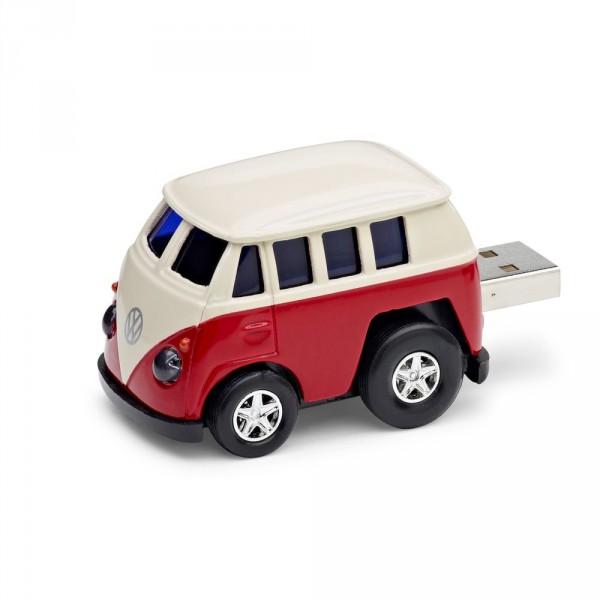 Original VW Bulli Spielzeugauto Bus rot USB Stick 8 GB