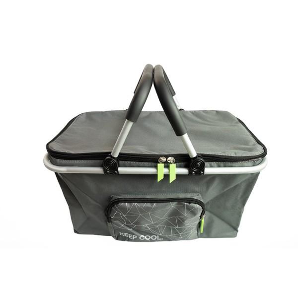 Original Skoda Cooling Bag Einkaufskorb Kühltasche Transport Tasche Anthrazit