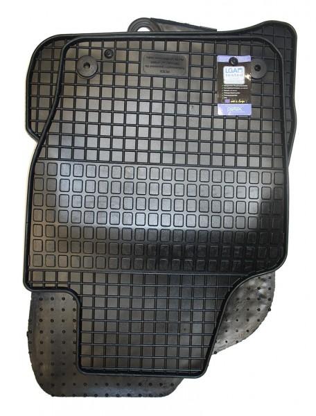 Gummifußmatten 4-teilig, schwarz, Komplettsatz, VW Polo