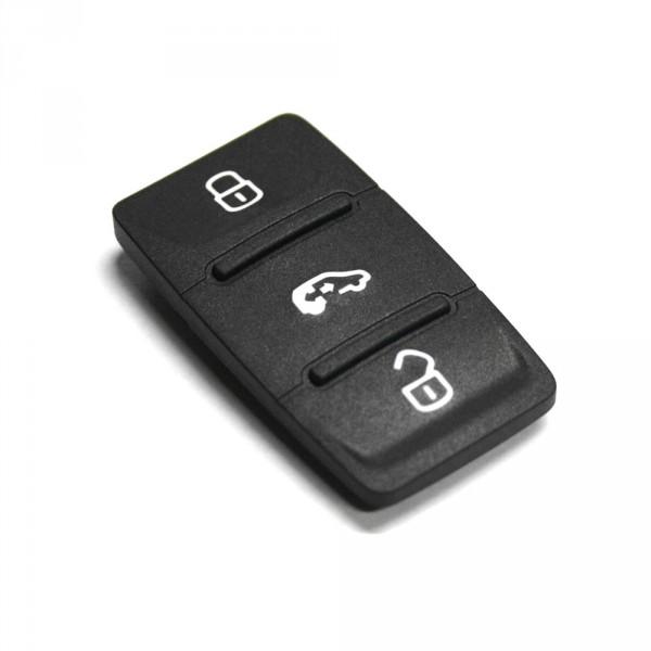Original VW Tastenabdeckung Schlüssel Zündschlüssel Symboleinsatz 3 Tasten