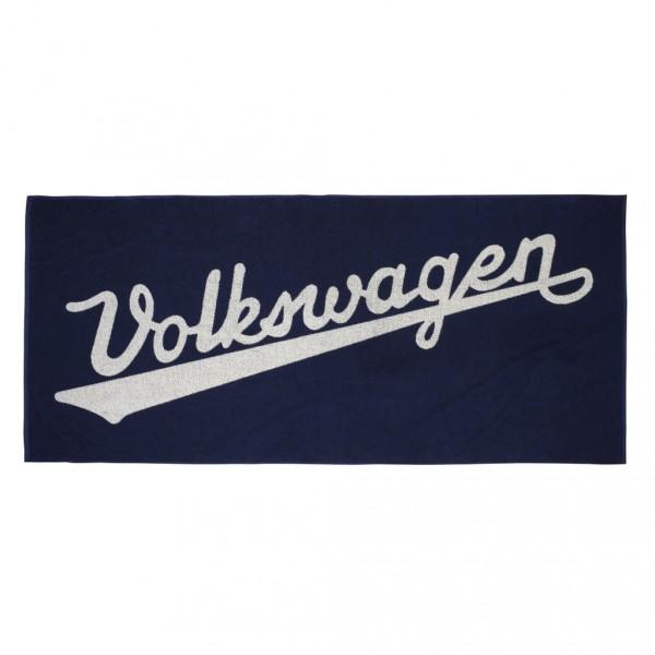 Original VW Handtuch Badetuch Strandhandtuch blau 311084500