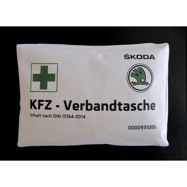 Original Skoda Verbandtasche Erste Hilfe nach DIN 13164-2014