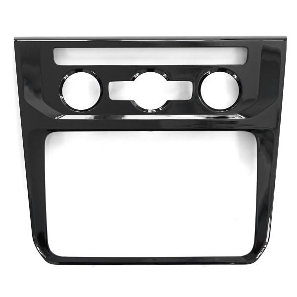 Original VW Caddy 4 Blende Armaturentafel schwarz Optik Verkleidung Armaturenbrett Dekor