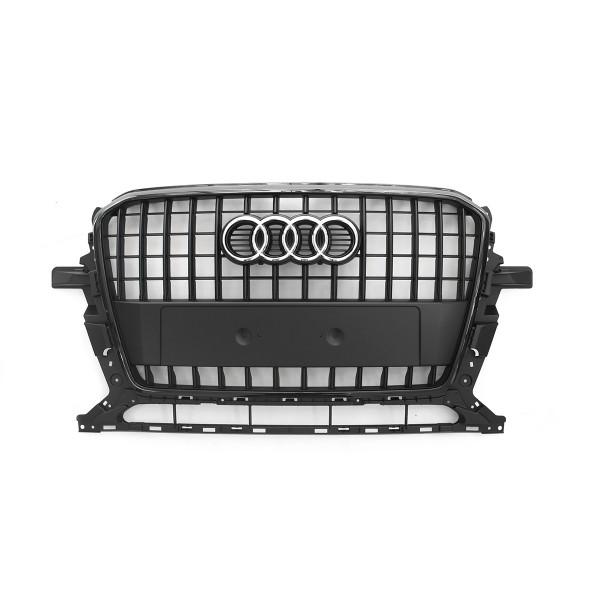 Original Audi Q5 (8R) Facelift Kühlergrill schwarz Tuning Design Grill Frontgrill