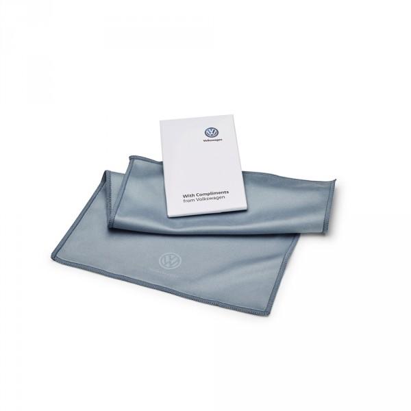 Original VW Reinigungstuch für Touchdisplays und Hochglanzoberflächen Microfaser Tuch