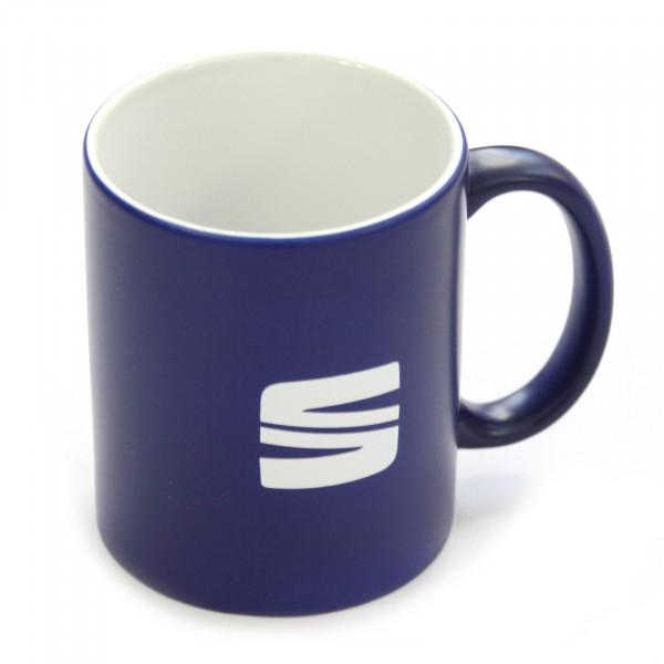 Original Seat Tasse blau Kaffeetasse Keramiktasse Becher Accessoires 6H1069601KAJ