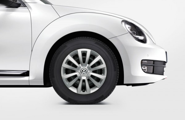 Radzierblenden Satz 16 Zoll Original VW Brilliantsilber Radkappen Beetle 5C