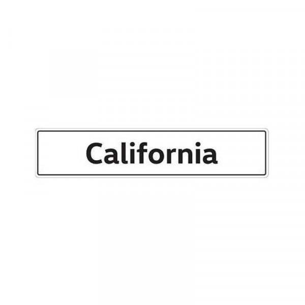Original VW Kennzeichenschild California Nummernschild Kennzeichen Typenschild 7H7071801A