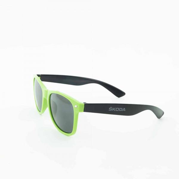 Original Skoda Sonnenbrille getönt grün schwarz Accessoires Lifestyle