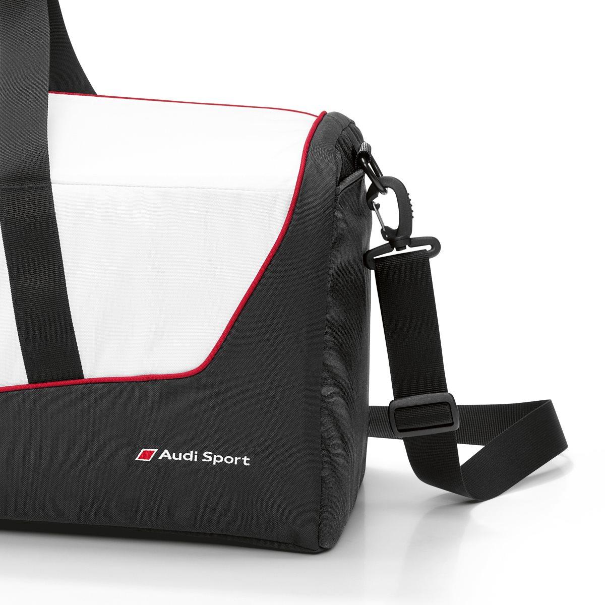 sporttasche reisetasche original audi sport tasche schwarz. Black Bedroom Furniture Sets. Home Design Ideas