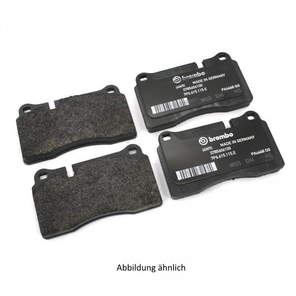 Touareg Bremsbelag Satz Vorderachse 7L6698151F Original VW Bremsklötze 1LB