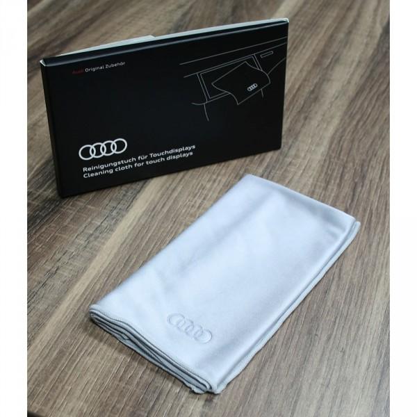 Original Audi Reinigungstuch für Touchdisplays Reinung Interieur Pflege Tuch