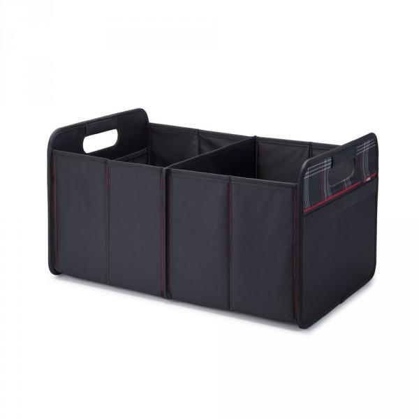 Original Volkswagen GTI Faltbox Tasche Box Clark Karostoff schwarz rot