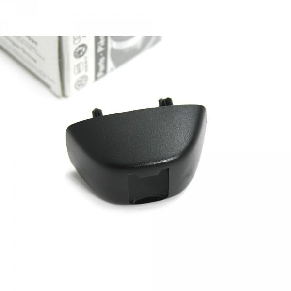 Audi Abdeckkappe für Halter Sonnenblende Original Befestigung Clip Sonnenschutz schwarz