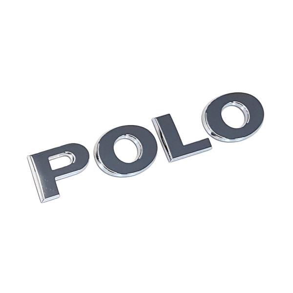 Original VW Polo 6 (2G) Schriftzug Emblem Logo chrom glänzend