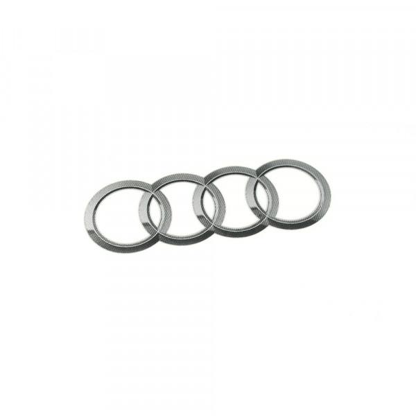 Aufkleber Sticker Audi Original Tuning Zubehör Audiringe Kennschild 95x56mm