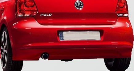 VW Polo Heckschürze Sport Heckspoiler