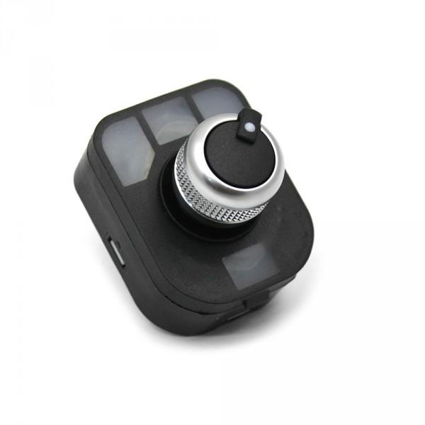 Original Audi Q3 chrom Schalter für Rückblickspiegel Interieur Tuning Betätigung
