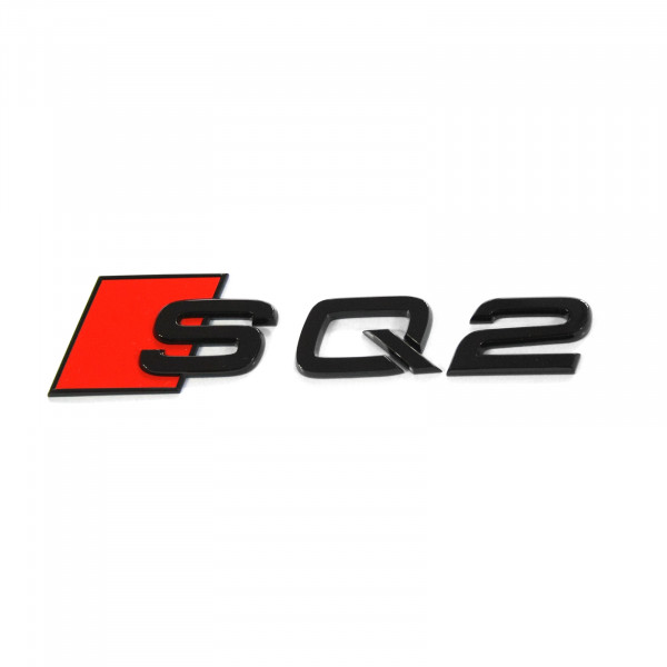 Original Audi SQ2 Schriftzug schwarz Tuning Exclusive Black Edition Emblem 81A071804