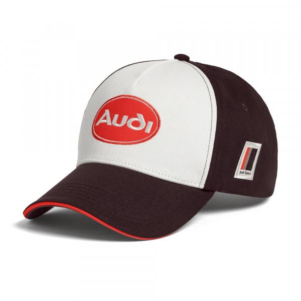 Original Audi Sport Basecap Cap heritage Kappe Baseballkappe braun 3132000600