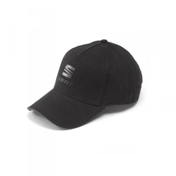 Original Seat Basecap Snapback Kappe Cap Baseballcap schwarz anthrazit