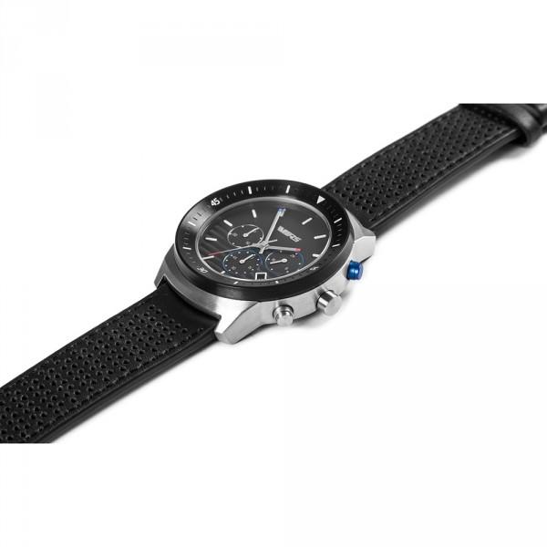 Original Skoda RS Chronograph Uhr Armbanduhr Lederband Japanisches Uhrwerk Lifestyle