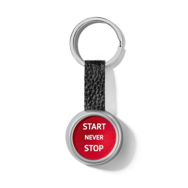 Original Audi Sport Schlüsselanhänger StartStop Button R8 Anhänger Gravur