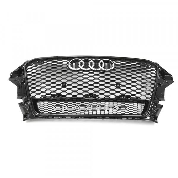 Original Audi RS3 (8V) quattro Kühlergrill Sport Design Frontgrill schwarz hochglänzend