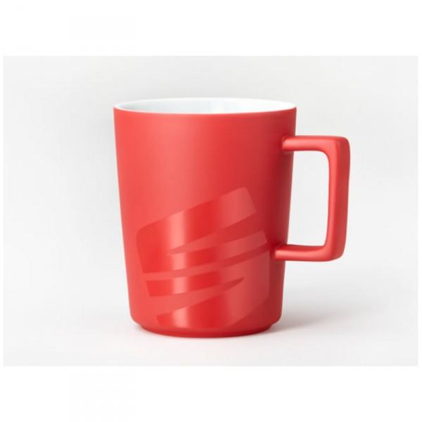 Original Seat Tasse rot Kaffeetasse Porzellan Becher Lifestyle Accessoires