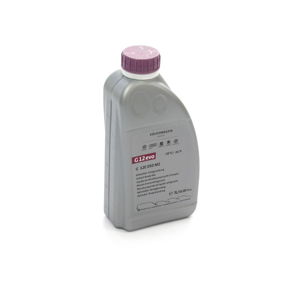 Original G12evo Kühlflüssigkeit Kühlmittel VW Audi Skoda Seat Ready Mix 1L Flasche