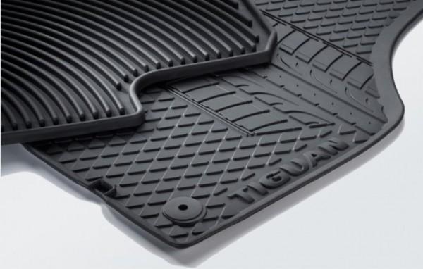 Gummi Fußmatten, Reifendesign (Tiguan) Original VW