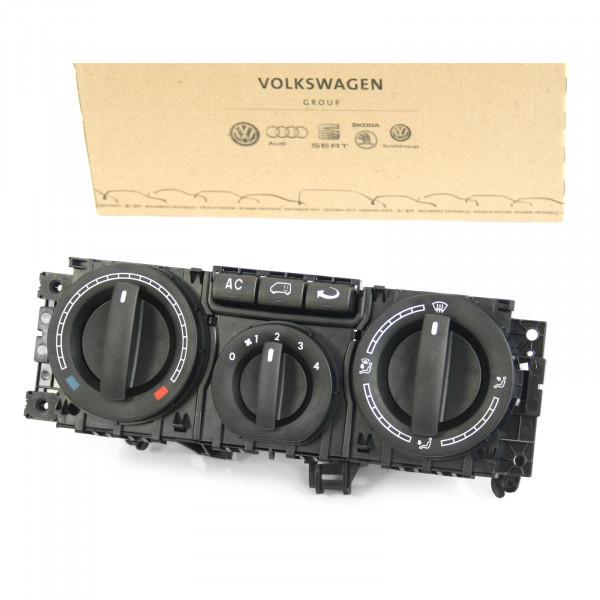 Original VW T5 Frischluftregler Schalter Heizungsregulierung Einstellknopf Bedienteil Klimaanlage