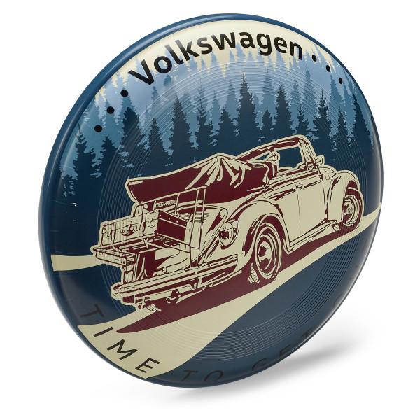 Original VW Wurfscheibe Käfer Cabriolet Accessoires Lifestyle Spielzeug 7E9050523