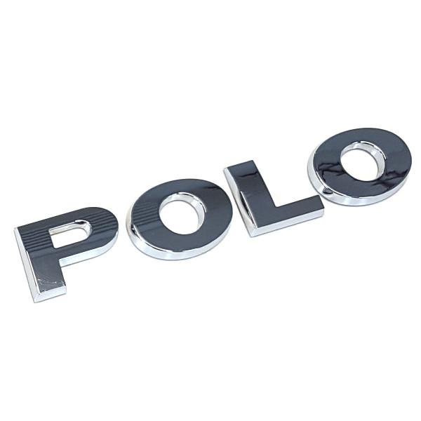 Original VW Polo 5 (6R/6C) Schriftzug Emblem Logo chrom glänzend