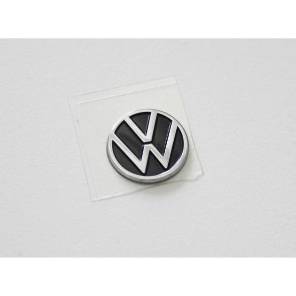 Original VW Emblem New Volkswagen Logo Zeichen Autoschlüssel Zündschlüssel Plakette 10mm