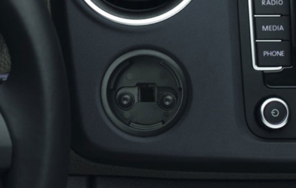 Aufnahme Multifixierpunkt VW Amarok Original Zubehör Nachrüstung Basisausstattung 000061128