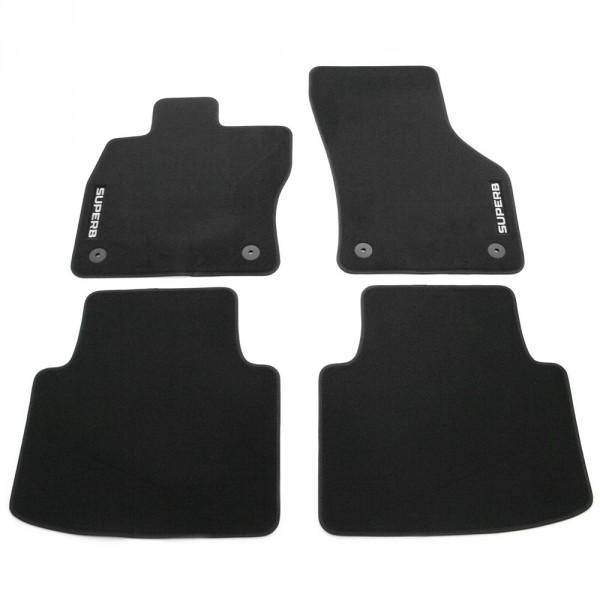 Original Skoda Superb III (3V) Standard Textil Fußmatten Satz 3V1061404B