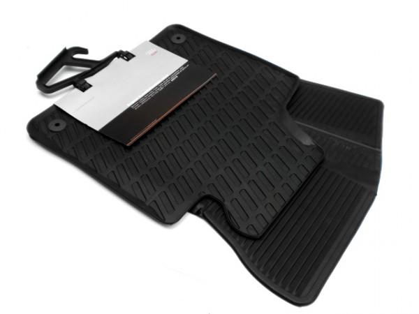 Audi A3 (8P) Original Gummi Fußmatten vorn Gummimatten Allwettermatten