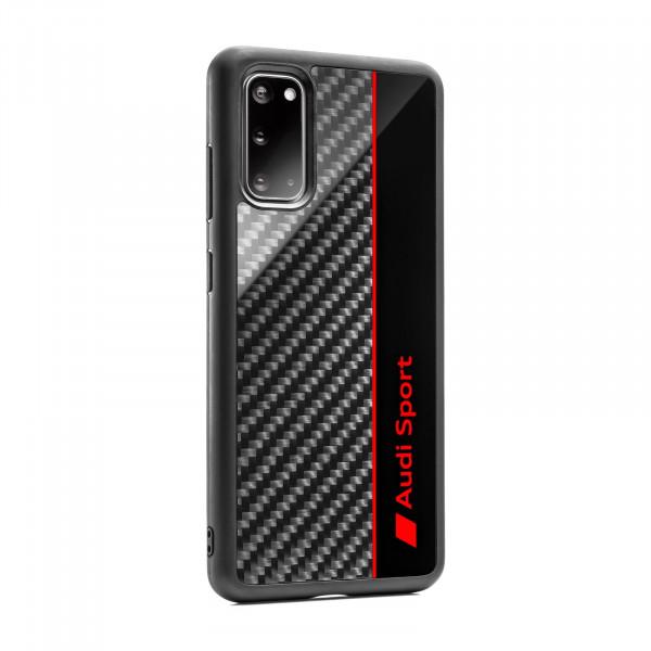 Original Audi Sport Smartphone Case Mobiltelefon Cover grau/rot 3222000302